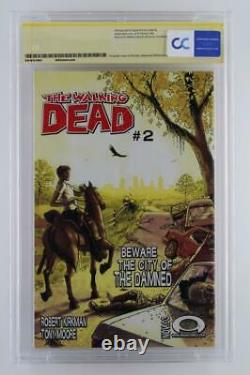 Walking Dead #1 -Signed CBCS 9.6 NM+ Image 2003 1st App of Rick Grimes