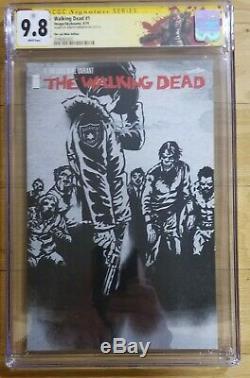 Walking Dead 1 The Last Wine Variant CGC 9.8 SS Signed Robert Kirkman