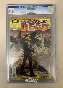 Walking Dead 2003 #1 1st Print CGC 9.6 (025408001) 1st Rick Grimes