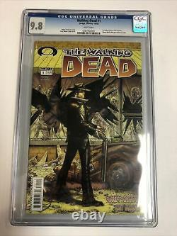 Walking Dead (2003) # 1 (CGC 9.8 White Pages) 1st app Rick Grimes, Shane Walsh