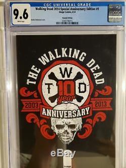 Walking Dead 2014 Special Anniversary Edition #1 (cgc 9.8) Hyundai Edition