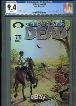 Walking Dead #2 (1st Lori & Carl) CGC 9.4 WP