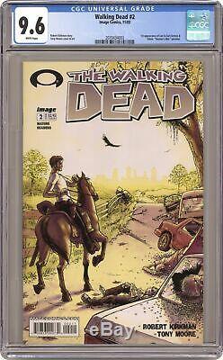 Walking Dead #2 1st Printing CGC 9.6 2003 2070434003