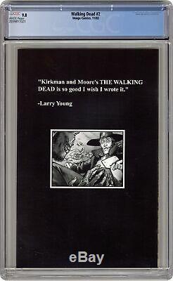 Walking Dead #2 1st Printing CGC 9.8 2003 2039811021
