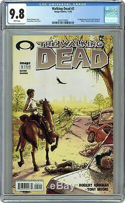 Walking Dead #2 1st Printing CGC 9.8 2003 2042775002