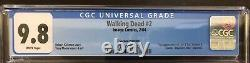 Walking Dead 2 2nd print CGC 9.8! 1st Glenn + Lori & Carl Grimes. Super LPRun