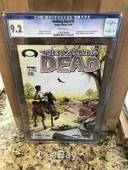 Walking Dead #2 CGC 9.2 Image 2003 1st Lorie, Carl & Glenn 2