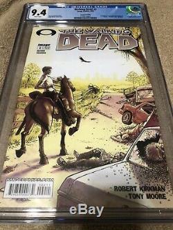 Walking Dead 2 CGC 9.4 Kirkman Moore 1st Lori Carl Grimes 2nd Printing AMC TV