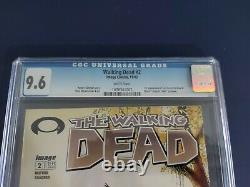 Walking Dead 2 CGC 9.6 1st print Robert Kirkman Tony Moore AMC Zombies 1st Carl