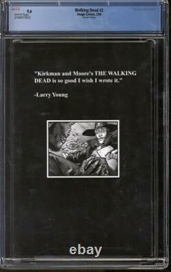 Walking Dead #2 CGC 9.6 (W) 2nd Printing 1st appearance of Lori and Carl Grimes
