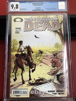 Walking Dead 2, Image Comics 2004, CGC 9.8, Second Print, 1st Lori Carl Glenn
