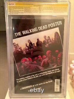 Walking Dead 40 CGC SS 9.6 signed Robert Kirkman & Charlie Adlard KEY ISSUE! NM