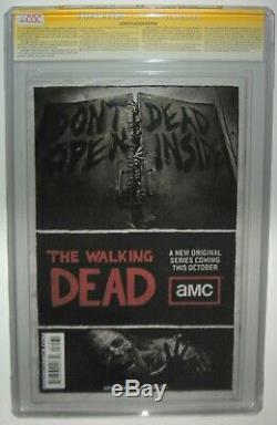 Walking Dead #75 SDCC 2010 Edition SIGNED by KIRKMAN ADLARD RATHBURN SS CGC 9.8