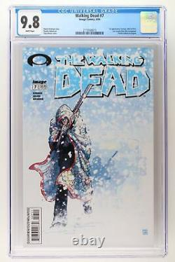 Walking Dead #7 Image 2004 CGC 9.8 1st Appearance Tyreese, Julie and Chris. Lo