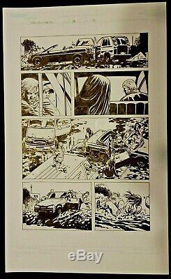 Walking Dead #94 page 18. Early Classic Jesus, Charlie Adlard original art