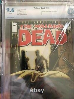 Walking Dead Bundle #2 Inc CGC 9.8 Apparant WD 100 Red Foil, CBCS 9.2 WD #2 2nd