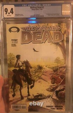Walking Dead Cgc Graded 9.4 Issue#2