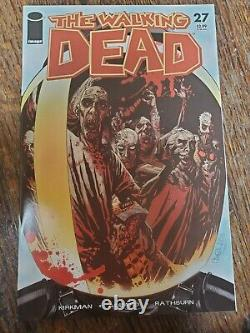 Walking Dead Comic Lot 94 total issues including several keys 27, 33, 61