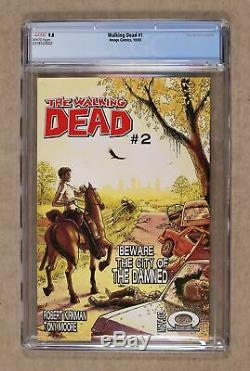 Walking Dead (Image) 1A 2003 1st Printing CGC 9.8 0318533002