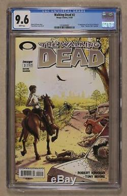 Walking Dead (Image) #2A 2003 1st Printing CGC 9.6 1253858001