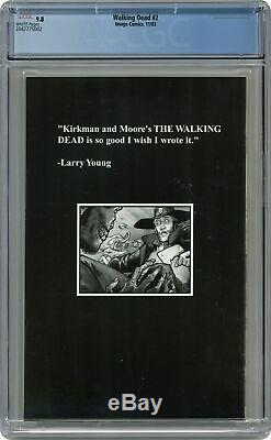 Walking Dead (Image) #2A 2003 1st Printing CGC 9.8 2042775002