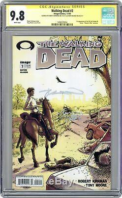 Walking Dead (Image) #2A 2003 1st Printing CGC 9.8 SS 1406029004