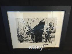 Walking Dead Michonne Introduction Production Art Storyboard by John Watkiss