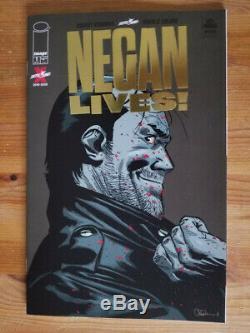 Walking Dead Negan Lives #1 Gold Variant