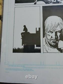 Walking Dead Original Art