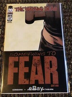 Walking Dead Rare, 2nd Printing Connecting Negan Issues! 97,98,99,100,101,102