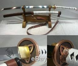 Walking Dead Samurai Sword Japan Katana High Carbon Steel Sharp Blade Hand Forge