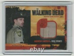 Walking Dead Season 1 Andrew Lincoln/rick Grimes Wardrobe Card Variant #/175