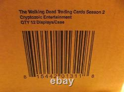 Walking Dead Season 2 Trading Card Hobby Box