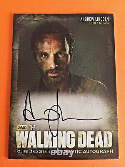 Walking Dead Season 3 Autograph Trading Card A1 Rick Grimes Cryptozoic