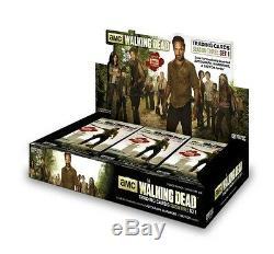 Walking Dead Season 3 Part 1 Sealed Hobby Box Free Shipping
