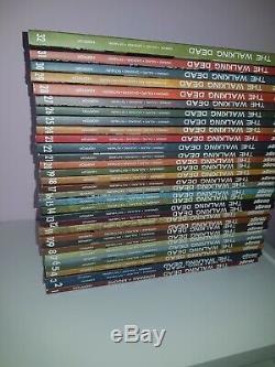 Walking Dead Volume 1 32 Complete Collection Plus Here's Negan Hardbook