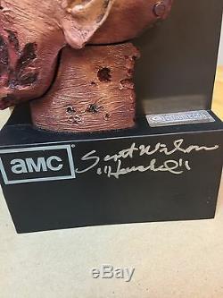 Walking Dead Zombie Head Autograph Signed JSA PSA Norman Reedus Scott Wilson