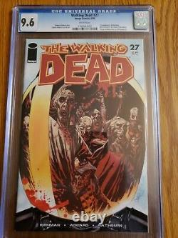 Walking dead 27 CGC 9.6 First Appearance of the Governor