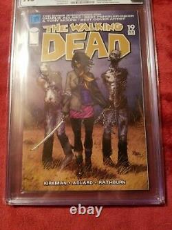 Walking dead Issue 19 CGC 9.8