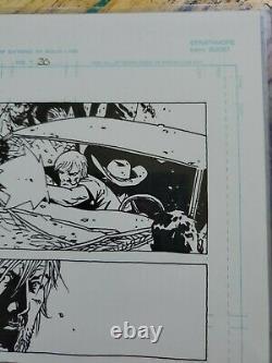 Walking dead original comic art