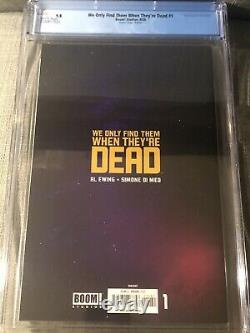 We Only Find Them When They're Dead #1 150 Frison Virgin Variant CGC 9.8 NM+/M