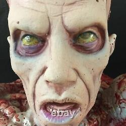 Zombie Brain Torso Candy Bowl Dish Centerpiece Walking Dead Horror Halloween New