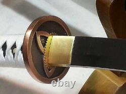 103'cm Walking Dead Samurai Sword-michonne's Katana 1095 Steel Battle Ready