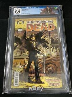 # 1 Walking Dead Cgc 9.4 1er Print 2003 1er Rick Grimes! Kirkman Comic