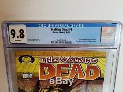 2003 Image Comics The Walking Dead # 1 Graded Cgc 9.8 De Nice Frais De Qualité