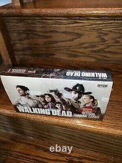 2011 Cryptozoïque Le Walking Dead Saison 1 Trading Card Hobby Factory Scelled Box