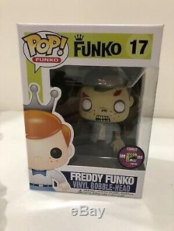 2013 Freddy Funko Dimanches The Walking Dead Rv Walker Zombie Fred 1/240 Twd Sdcc