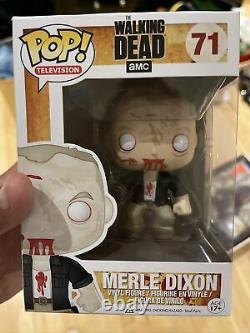 2013 Vaulted Funko Pop! Tv The Walking Dead Merle Dixon (zombie) #71