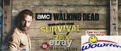2016 Topps L'usine Walking Dead Survival Sealed Hobby Box-4 Hits