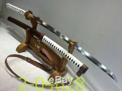 41inch Walking Dead Samurai Katana De L'épée-michonne 1095 Bataille Acier Prêt # 076